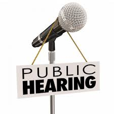 Notice of Public Hearing for the FY 2022 School Budget